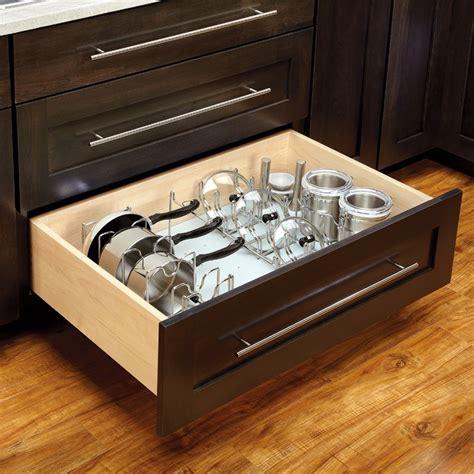 kitchen cabinet drawer inserts rev a shelf vinyl drawer peg board 30 1 8 quot w 4dpbg 3021 1 5378