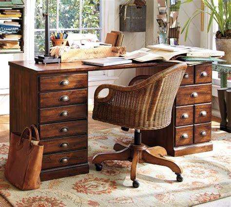 Pottery Barn Printers Desk by Printer S Rectangular Desk Office Desk Pottery Barn