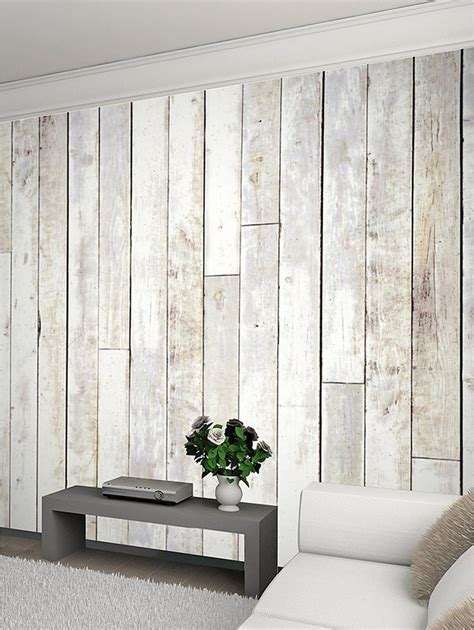 Rustic White Wood Paneling for Walls : White Wood Paneling