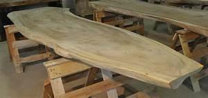 Holz Baumstamm Tisch Massiv BS Holzdesign