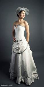 Steampunk wedding dress pictures for Wedding dress steaming