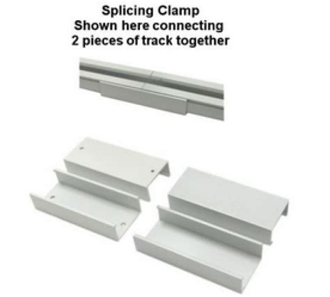 10 pack splicing cl for hospital cubicle curtain track