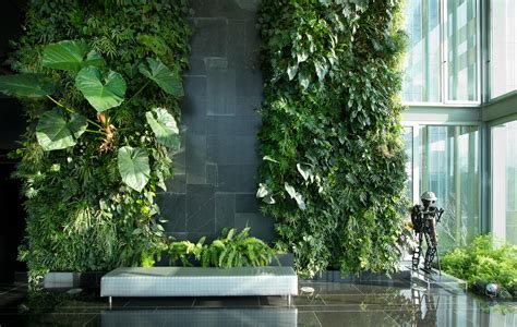 Vertical Garden by Vertical Garden Design Natura Towers Interior