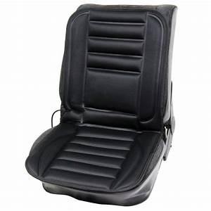 Streetwize 12 volt heated car seat cushion towsure for Chair cushion covers argos