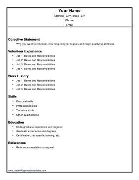 how to write volunteer work on resume 28 images volunteer resume template