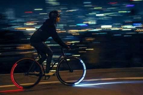 motorcycle wheel lights these light up wheels turn your bike into a cycle wired