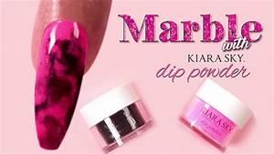 Nail Designs Dip Powder Marble Nail Art Tutorial With Dip Powder Youtube