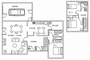 comment dessiner un plan de maison With plans de maison en l 8 conception et realisation de plans maison dessin