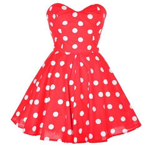 Red Polka Dot Dress from Styleiconscloset on Storenvy