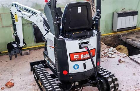 mini excavators electric excavators calgary edmonton