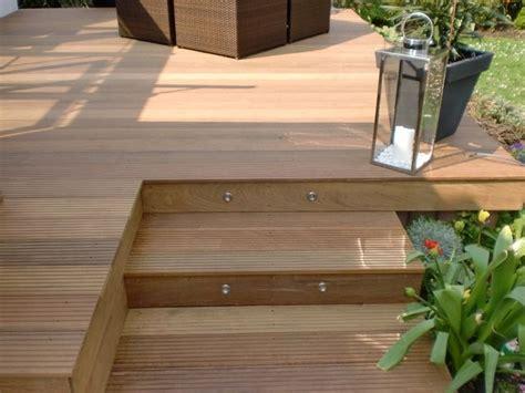 Terrasse Mit Holz by Terrassengestaltung Mit Holz Aufgang Holz Terrasse