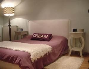 Tete De Lit Tissu : fabrication tete de lit en tissu ~ Premium-room.com Idées de Décoration