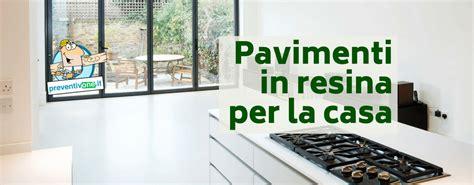 pavimenti in resina per esterni costi pavimenti in resina per abitazioni prezzi e tipologie