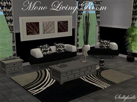 Mod The Sims  Mono Living Room