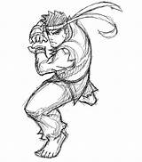 Ryu Fighter Coloring Msp Samuraiblack Deviantart Template Coloriages Ws Credit Larger Sketch Favourites sketch template