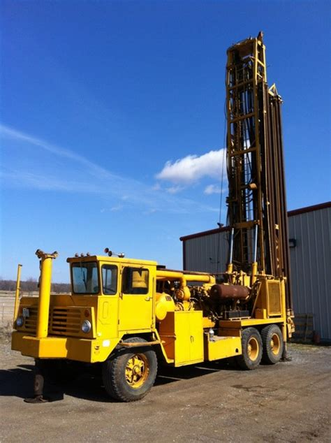 ingersoll rand drill rigs 1972 ingersoll rand t4w drill rig venture drilling supply