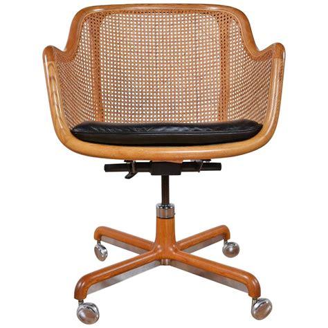 mid century modern swivel desk chair by ward