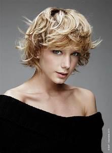 Coupe Courte Cheveux Bouclés : coupe courte cheveux ondul s ~ Melissatoandfro.com Idées de Décoration