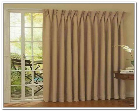 Patio Door Curtains For Traverse Rods by Patio Door Curtains Pinch Pleat Patio Door Curtain Panels