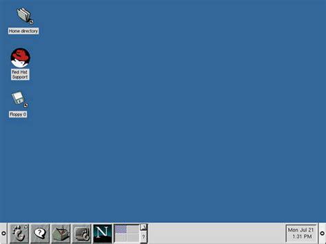 environnement bureau linux interface des systèmes d 39 exploitation 1973 2009