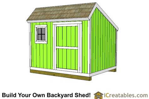 10x10 Shed Plans Blueprints by 10x10 Shed Plans Storage Sheds Small Barn Designs