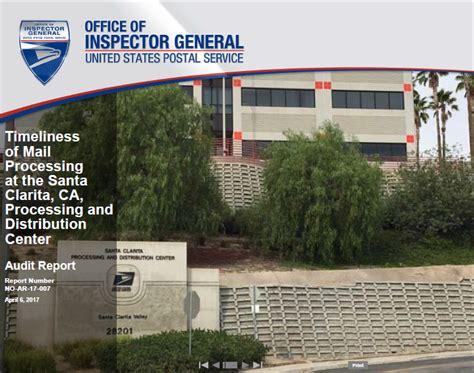 us post office santa clarita ca timeliness of mail processing at the santa clarita ca