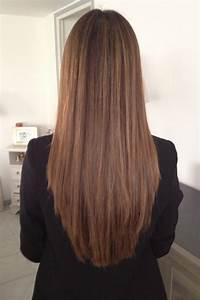 Ombré Hair Blond Foncé : ombr hair brun fonc ~ Nature-et-papiers.com Idées de Décoration