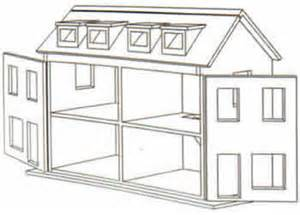 Stunning Dollhouse Floor Plans Ideas by Dolls House Plans Sale Doll Houses Plan From Kosy Homes