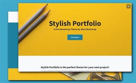 Bootstrap Portfolio Templates Creative Stunning And Responsive Bootstrap 4 Portfolio