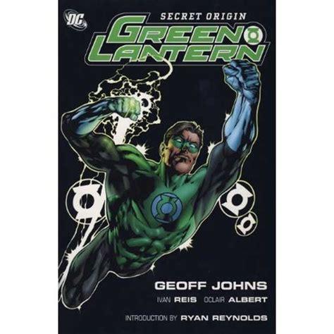 geoff johns green lantern secret origin review the list