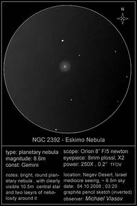 Sketches of NGC, IC and Other Objects - Deep Sky Watch