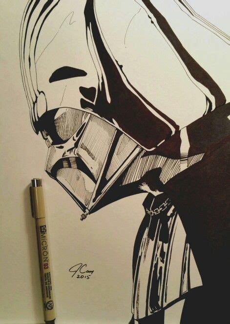 darth vader art  star wars     micron pens