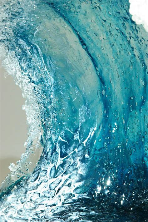 Ocean Wave Vases And Sculptures Capture The Majestic Power