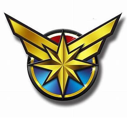 Marvel Captain Comics Logos Sticker Cool Kran
