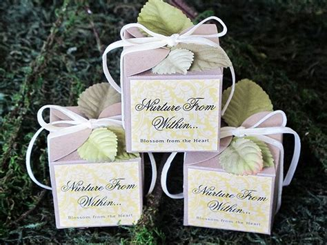 wildflower seed favors favor ideas wildflower seeds