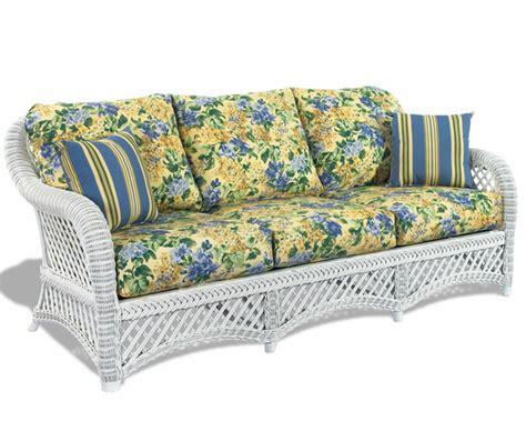 white wicker chair and ottoman white wicker sofa lanai wicker paradise