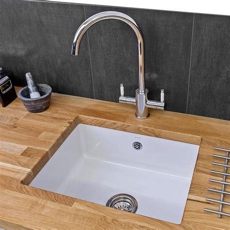 ceramic undermount kitchen sink reginox mataro 1 0 bowl white ceramic undermount kitchen sink