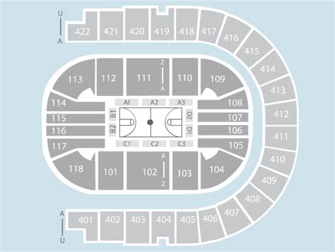 basketball seating plan   arena