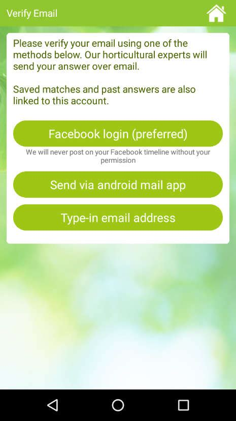 Garden Answers App by Greenapps Web Garden Answers App For Identifying Plants