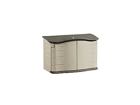 rubbermaid garbage shed horizontal storage shed rubbermaid
