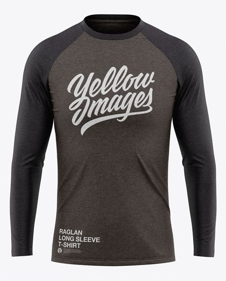 ✓ free for commercial use ✓ high quality images. Mockup T Shirt Raglan Free - Free Mockups | PSD Template ...