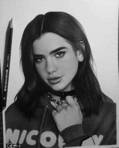 Dua Lipa Fatlum Meholli 2018 | Celebrity drawings ...
