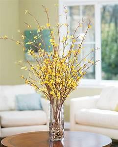Embrace Spring with Forsythia Silk Flower Arrangement at
