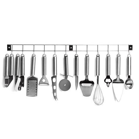 vente ustensile cuisine professionnel barre 12 ustensiles de cuisine en inox men110 achat