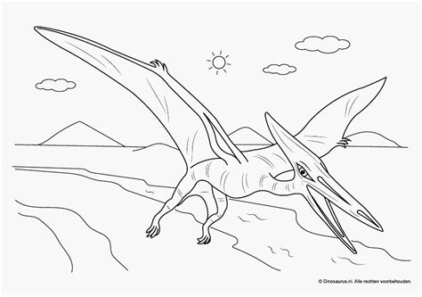 Kleurplaat Grote Dinosaurus by Kleurplaat Dinosaurus T Rex Voorbeeld Dino Kleurplaten