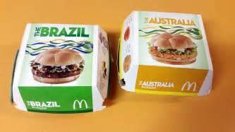wraps australia taste test mcdonald 39 s 2014 world cup brazil and australia