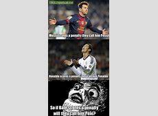If Ronaldo is Penaldo Messi is Pessi What if Bale