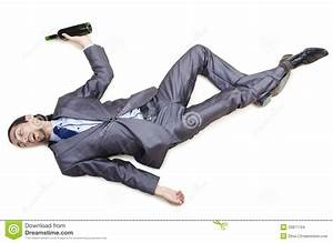 Drunk Businessman On Floor Stock Images - Image: 25871104