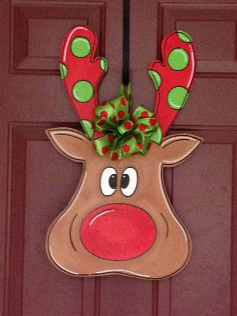 christmas craft cutouts best 25 door hangers ideas on wooden cutouts wood door hanger and wood