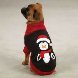 Penguin Christmas Sweater for Dogs